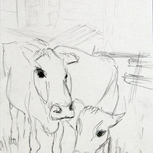 Heidrun Wettengl: Hedmark 12/13, Bleistift auf Papier, 29,7x21 cm, 2015. Alle Rechte vorbehalten.