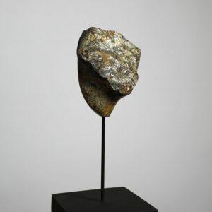 Heidrun Wettengl: Thoughts, Findling, 13x11x7 cm, 2015. Alle Rechte vorbehalten.