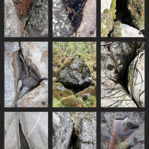 Heidrun Wettengl: Triangel 1, Fotoserie, jeweils 21x14 cm, 2015. Alle Rechte vorbehalten.