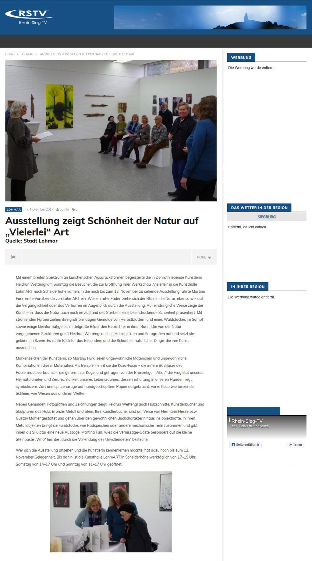 2017-11-07_Rhein-Sieg-TV_Vielerlei