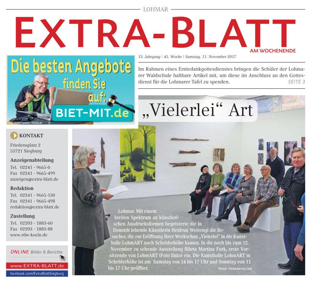 2017-11-11_EXTRA-BLATT-Wochenende_Lohmar_Vielerlei