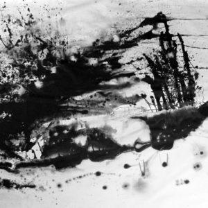 Heidrun Wettengl: Losgelöst, Acryl auf Papier, 150x200 cm, 2012. Alle Rechte vorbehalten.
