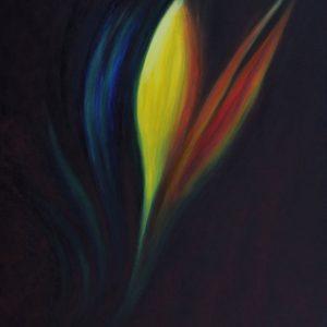 Heidrun Wettengl: Ohne Titel, Acryl auf Leinwand, 110x90 cm, 2012. Alle Rechte vorbehalten.