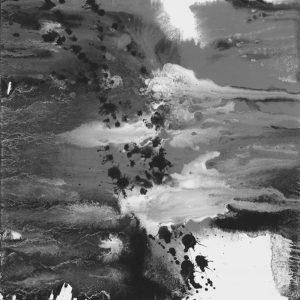Heidrun Wettengl: Seelenwelten 01, Acryl auf Karton, 20x20 cm, 2012. Alle Rechte vorbehalten.