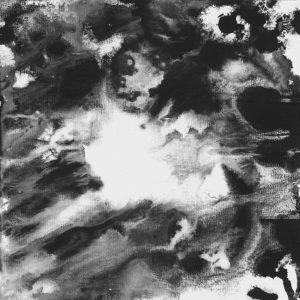 Heidrun Wettengl: Seelenwelten 02, Acryl auf Karton, 20x20 cm, 2012. Alle Rechte vorbehalten.