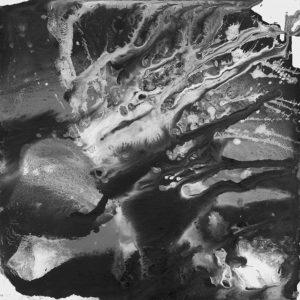 Heidrun Wettengl: Seelenwelten 03, Acryl auf Karton, 20x20 cm, 2012. Alle Rechte vorbehalten.
