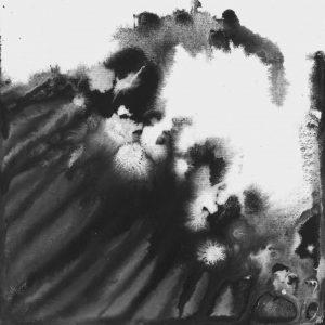 Heidrun Wettengl: Seelenwelten 04, Acryl auf Karton, 20x20 cm, 2012. Alle Rechte vorbehalten.