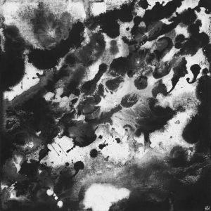 Heidrun Wettengl: Seelenwelten 05, Acryl auf Karton, 20x20 cm, 2012. Alle Rechte vorbehalten.