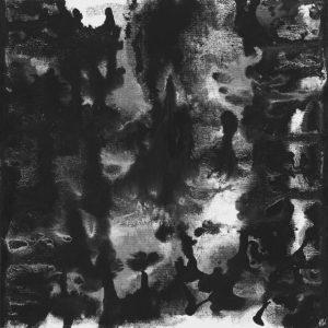 Heidrun Wettengl: Seelenwelten 06, Acryl auf Karton, 20x20 cm, 2012. Alle Rechte vorbehalten.