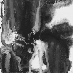 Heidrun Wettengl: Seelenwelten 12, Acryl auf Karton, 20x20 cm, 2012. Alle Rechte vorbehalten.