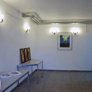 Heidrun Wettengl: Ausstellung Vielerlei (Eingang), 2017; Alle Rechte vorbehalten.