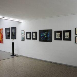 Heidrun Wettengl: Ausstellung Vielerlei (Seitenflügel), 2017; Alle Rechte vorbehalten.