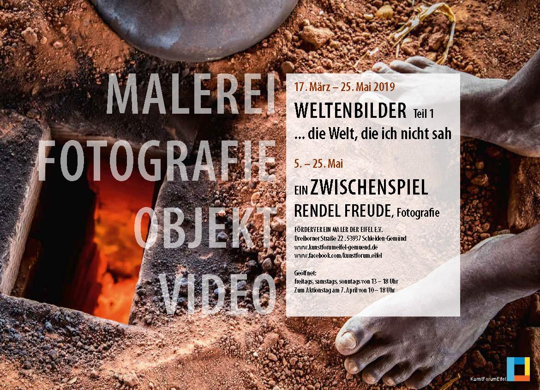 Flyer_Die-Welt-die-ich-nicht-sah_KunstForumEifel