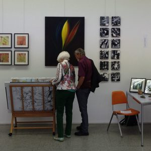 """Heidrun Wettengl: Werke in der Ausstellung """"Querschnitt"""". Alle Rechte vorbehalten."""