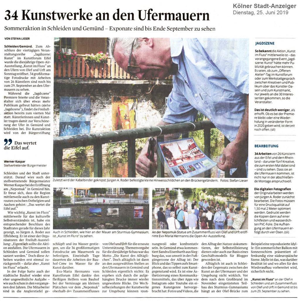 2019-06-25_Koelner-Stadt-Anzeiger_Kunst-im-Fluss